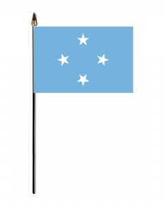 Micronesia Country Hand Flag - Small.